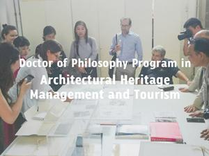 Ph.D. Architectural Heritage Management and Tourism